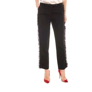 NWT GIANLUCA CAPANNOLO Crepe Tailored Trousers